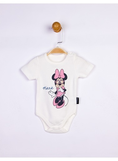 Minnie Mouse  Bebek Body 17202 Ekru